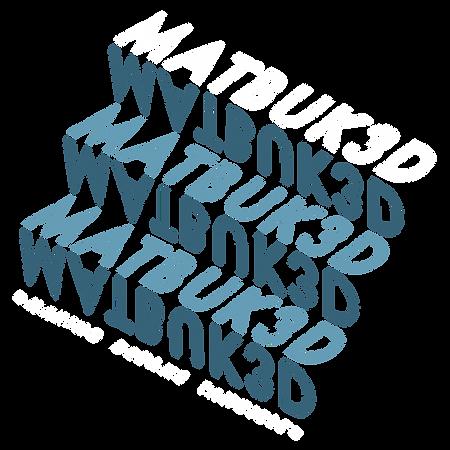 Matbuk3D Logo Design