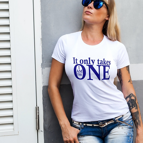 The One (Unisex) XS-XL