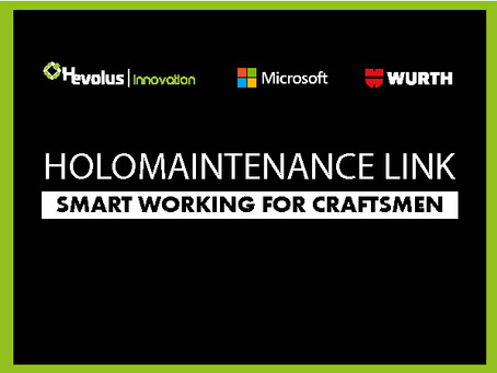 HoloMaintenance Link comes to life, artisans get smart  too
