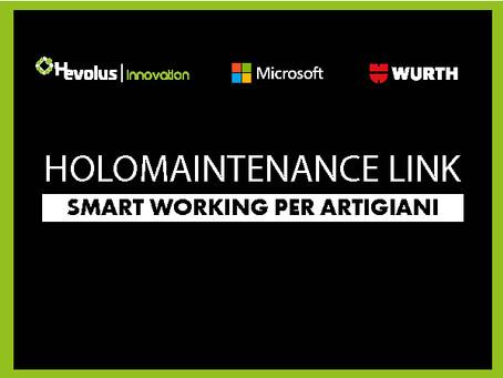 Nasce HoloMaintenance Link, anche l'artigiano diventa smart