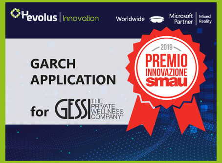 Gessi and Hevolus Innovation won the SMAU2019 Innovation Award with the GARCH application