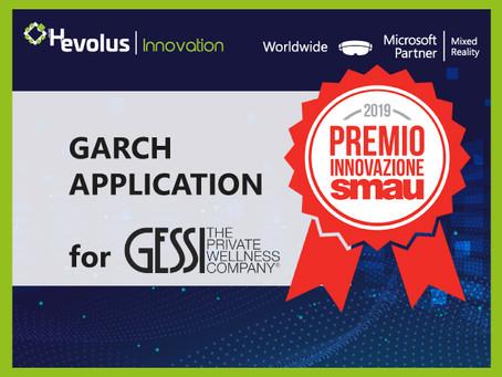 Gessi e Hevolus Innovation vincono il Premio Innovazione SMAU2019 con l'applicazione GARCH