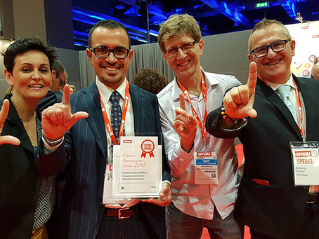 Hevolus Innovation and Natuzzi won the SMAU 2018 Innovation Award