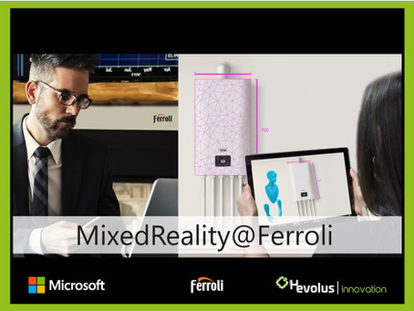 Ferroli presents the new Mixed Reality Store, with Microsoft and Hevolus