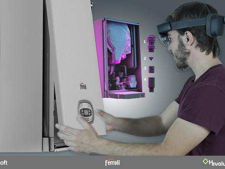 Ferroli presenta il suo Mixed Reality Store, con Microsoft e Hevolus