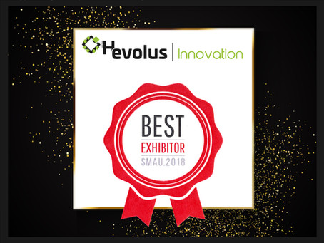 The 2018 Exhibitor Award of the SMAU Roadshow was presented to Hevolus Innovation