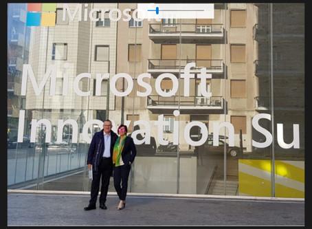 Hevolus Innovation at Microsoft Innovation Summit 2019 in Milan