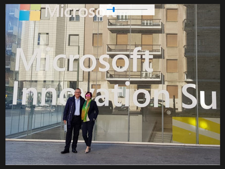 Hevolus Innovation at Microsoft Innovation Summit 2019 in Milan