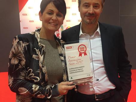 Würth-Hevolus win the Innovation Award at Smau 2017