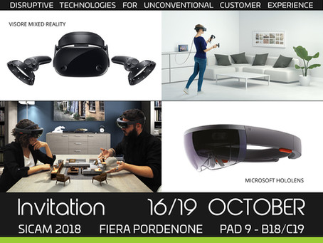 Hevolus Innovation invites you to SICAM 2018 - 16/19 October Pordenone Fair