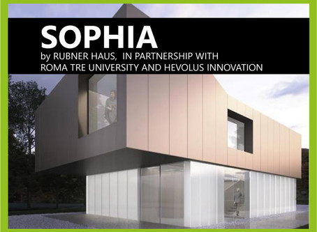 Rubner Haus presents SOPHIA, the home of the future