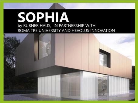 Presentato SOPHIA, il nuovo progetto di Rubner Haus per la casa del futuro