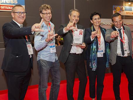 Hevolus Innovation and Würth Italia won the SMAU 2018 Innovation Award