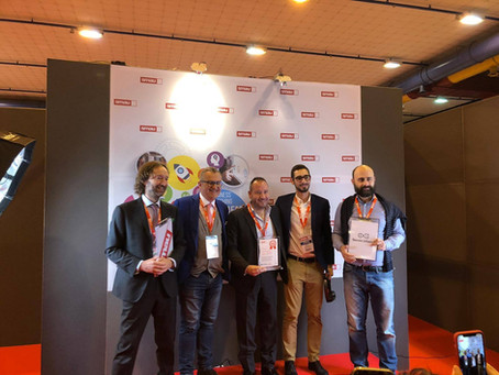 Hevolus Innovation and Mondo Camerette won the SMAU Innovation Award 2018