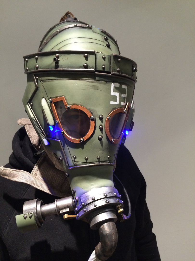 fallout cosplay sci-fi helmet