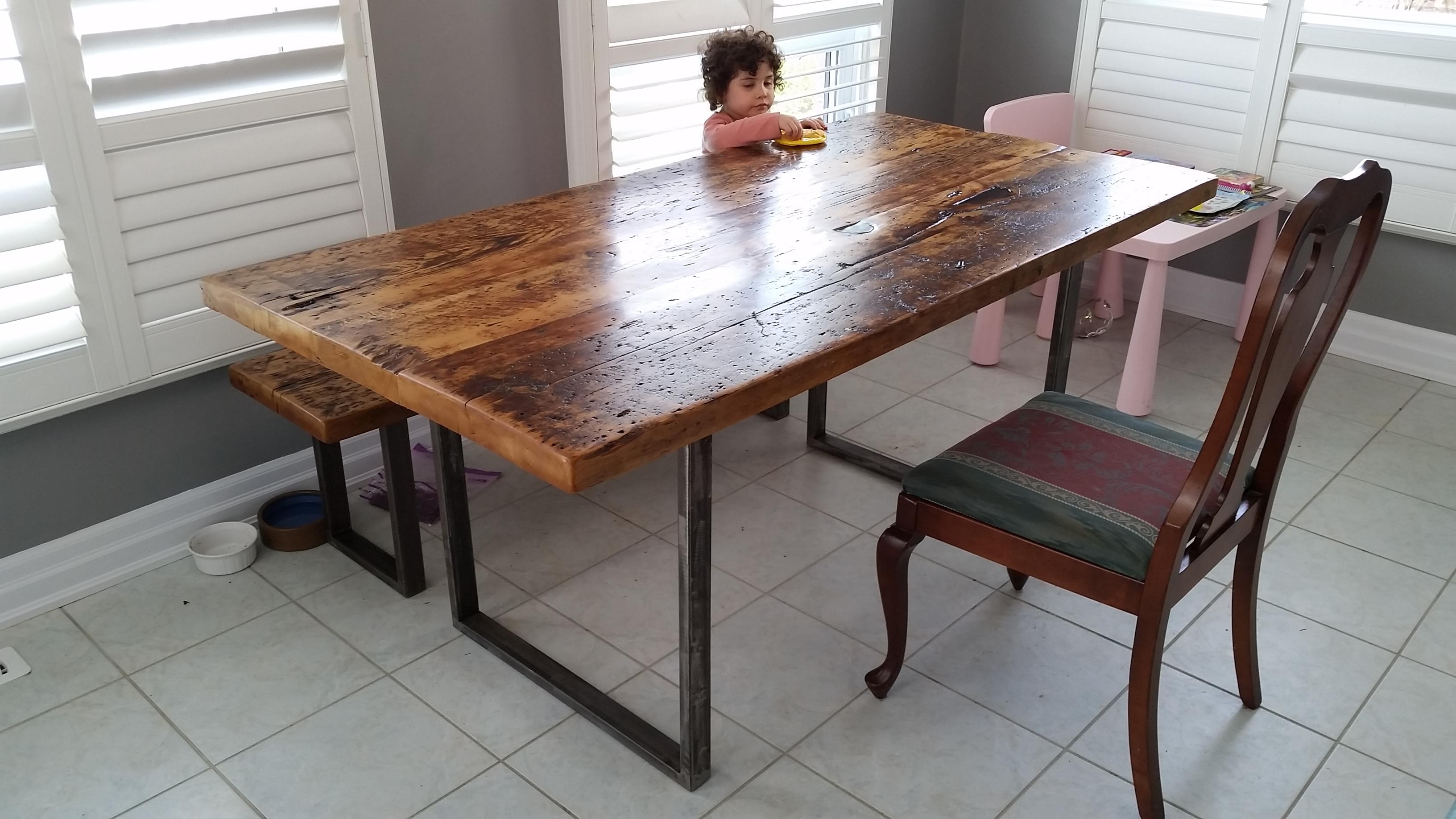 toronto barn board table