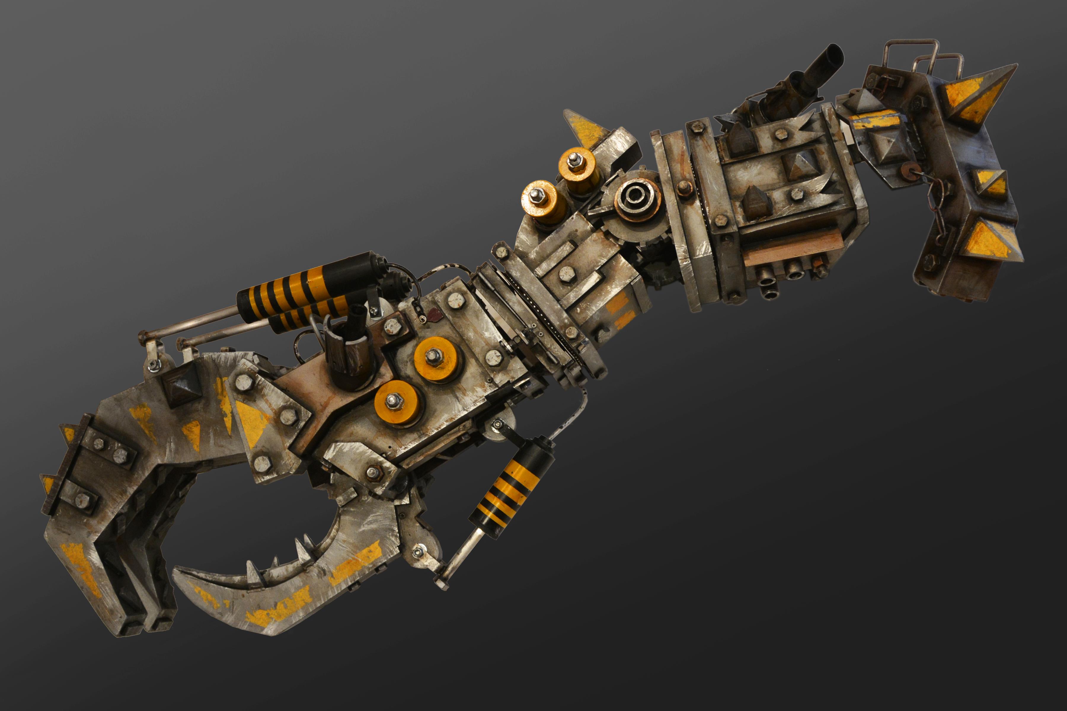 ork 40k orc mega armor nob cosplay