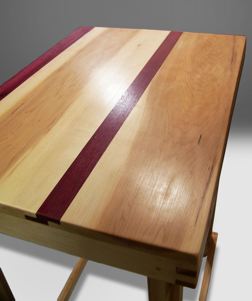 fine woodworking exotic wood table
