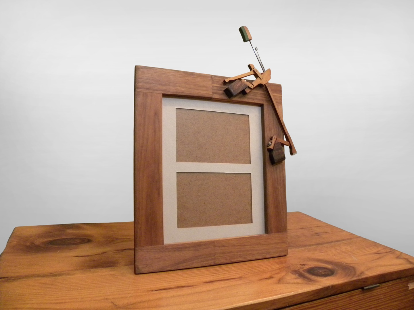 fancy picture frame made from piano