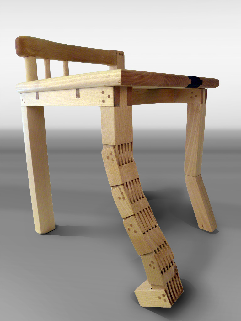 Finnish moomin cartoon chair