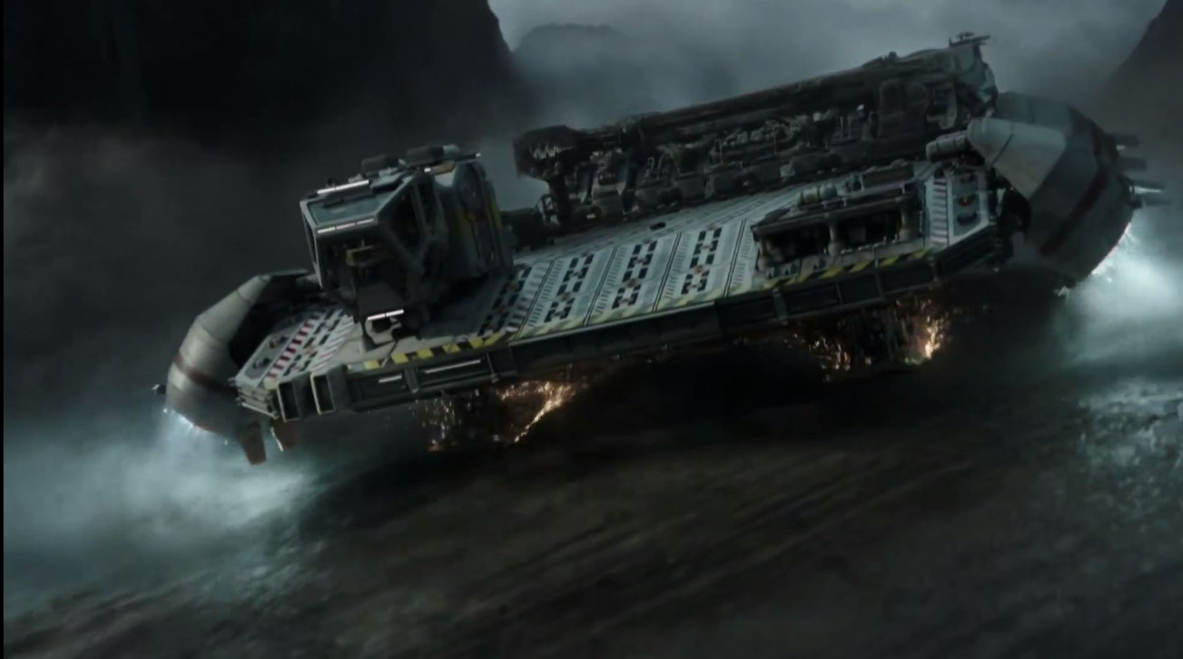 Alien Covenant Space barge spaceship