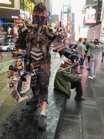 new ypork cosplay power armor