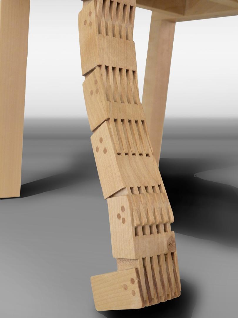 finnish moomin wooden chair