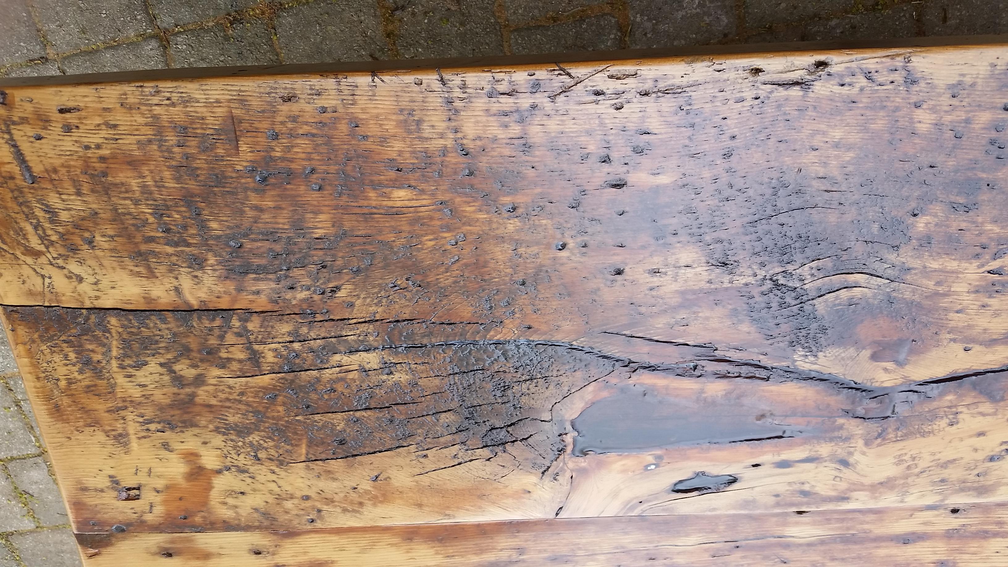 rustic barn board table toronto