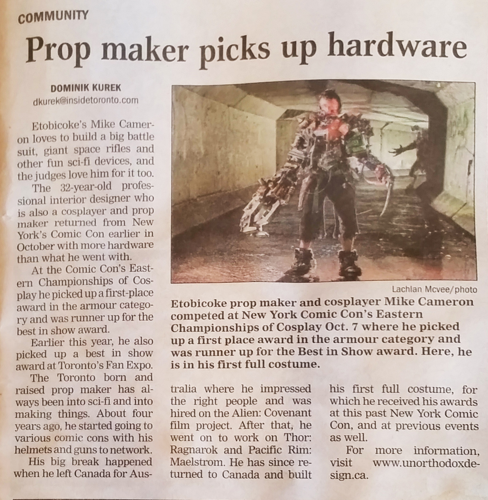 Fallout post apocalyptic newspaper