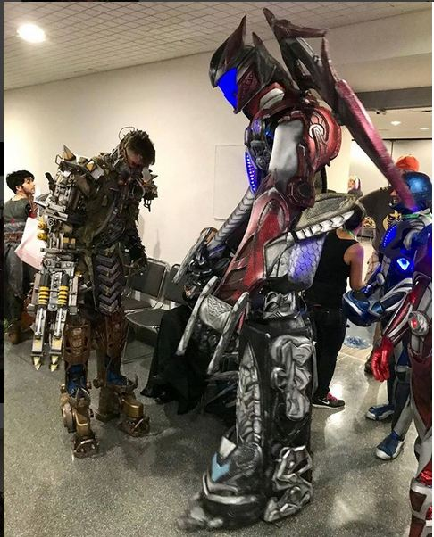 fallout power rangers cosplay nycc