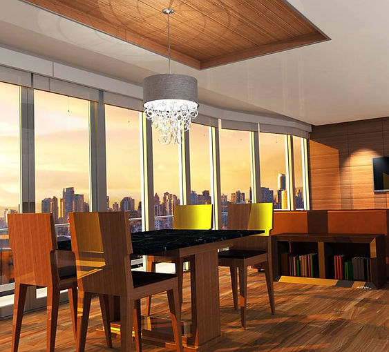 Solidworks Photoview 360 architectural condo render