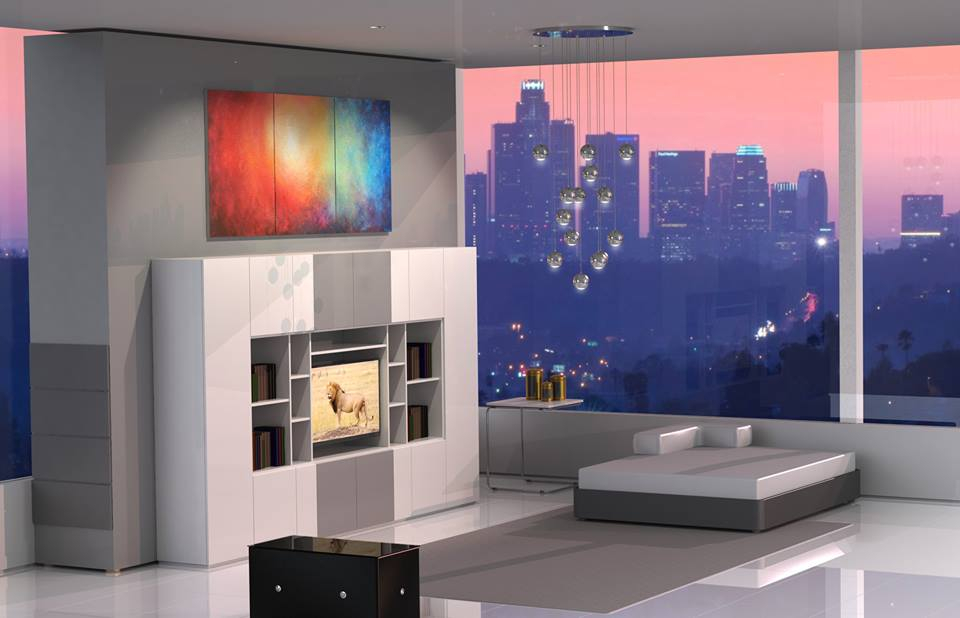 architectural render los angeles