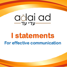 I statements for Effective Communication