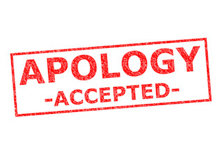 Image result for apology accepted