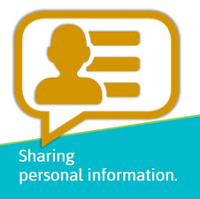 Sharing personal information