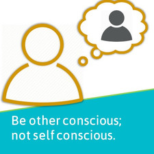 Be other conscious.