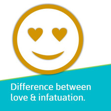 Difference between love and infatuation