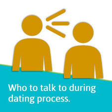 Who to talk to during dating