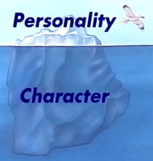 The difference between Personality & Character. Its important to know the difference