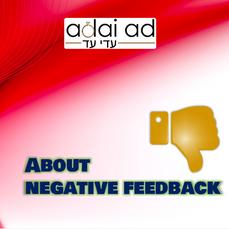 About Negative Feelings