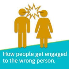 How people get engaged to the 'wrong person'.