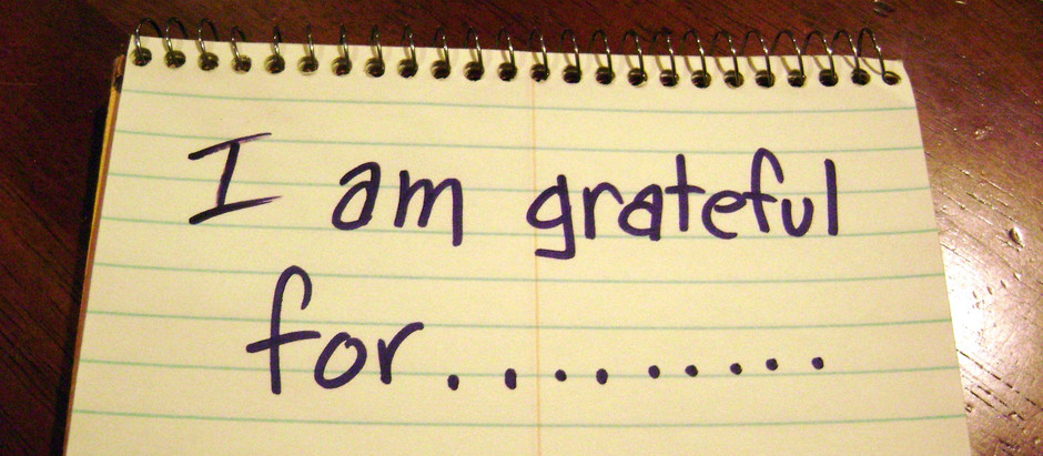 Gratitude leads to Happiness & Success