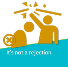 Rejection is part of dating.