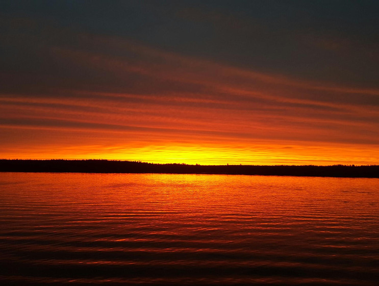 Moose Lake Sunset