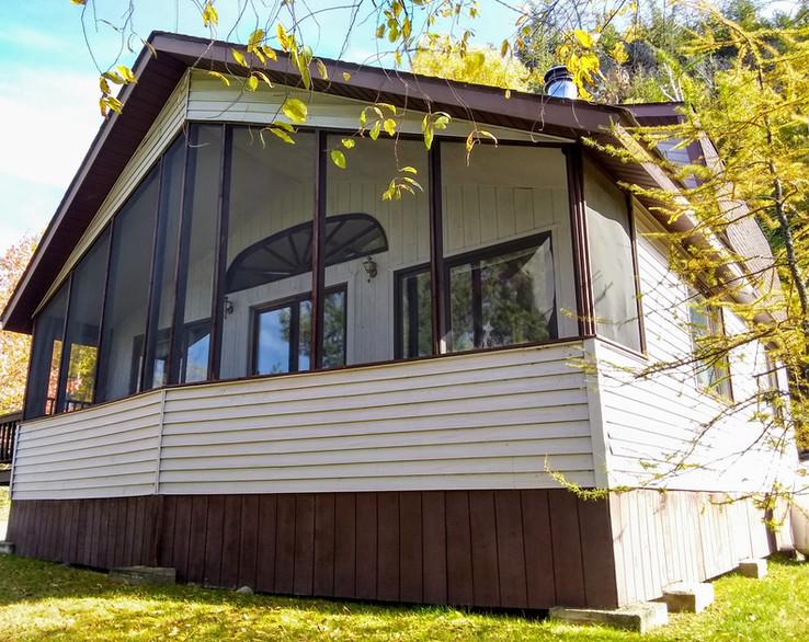 Shorewood Cabin Porch