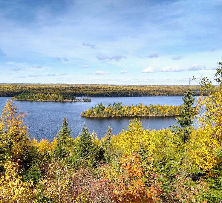 East Wind View of Moose Lake