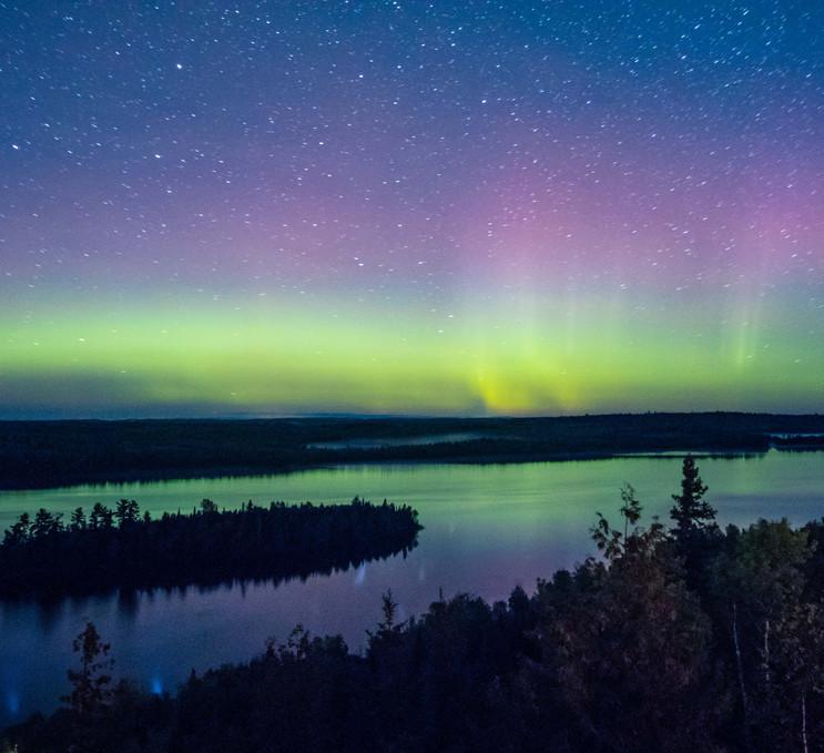 Moose Lake Northern Lights