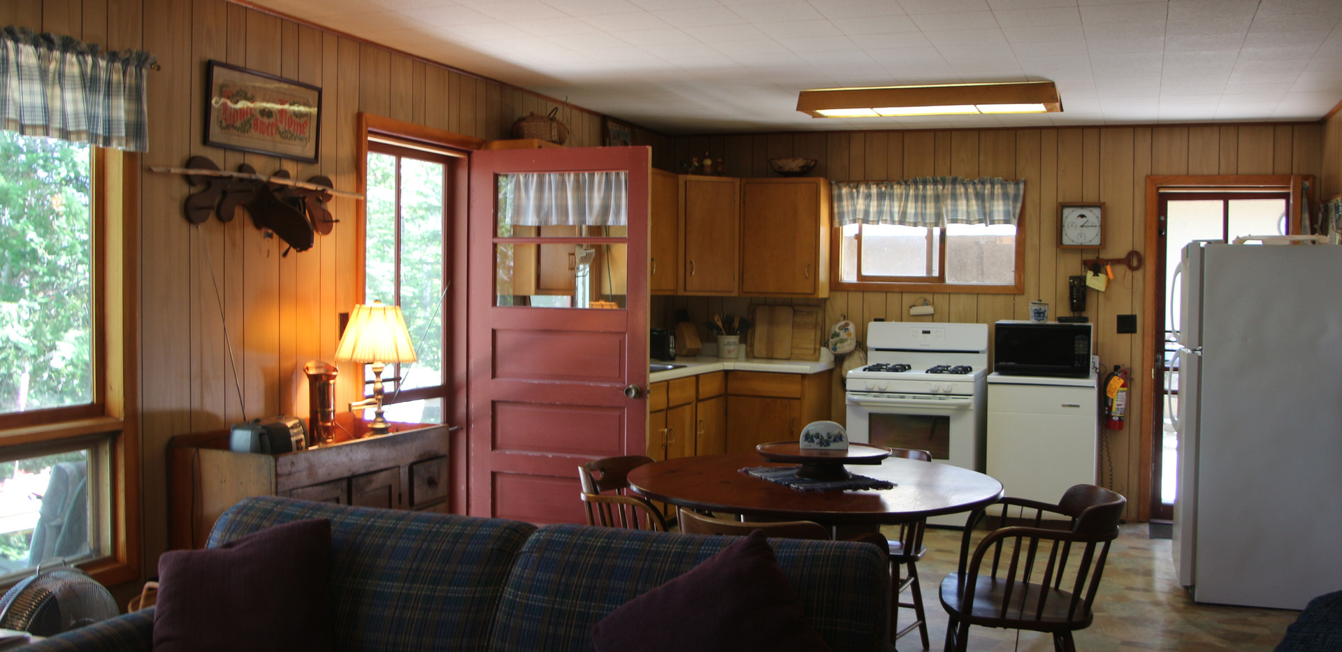 Thye's kitchen.