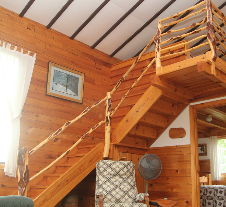 East Wind Staircase to Loft