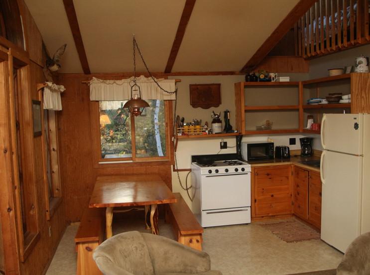 Hilltop kitchen.